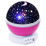Novelty Luminous Toys Romantic Starry Sky LED Night Light Projector Battery USB Night Light Creative Birthday Toys For Children