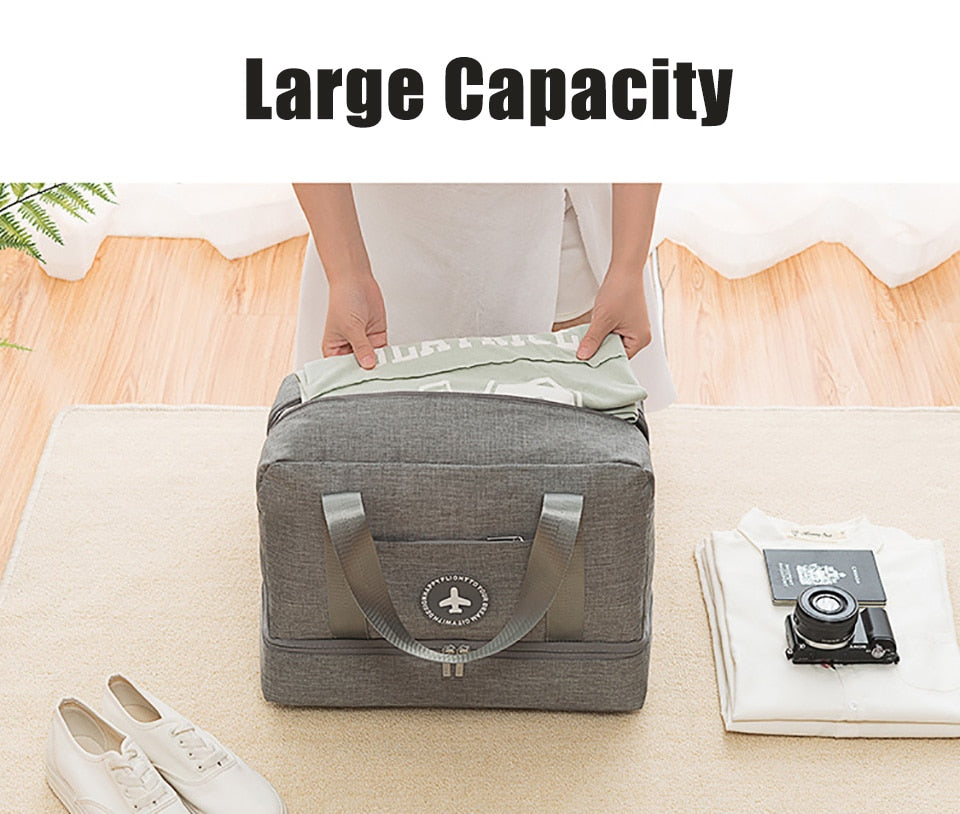 Quality Sports Bag Training Gym Bag Shoes Storage Men Woman Fitness Bags Durable Multifunction Handbag Outdoor Sporting Tote Bag