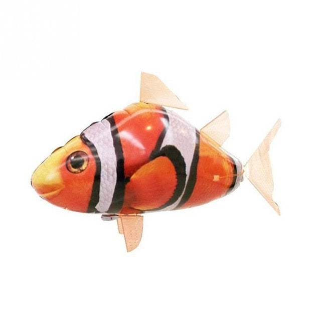 Remote Control RC Toy Inflatable Balloon Air Swimmer Flying Clown RC Fish