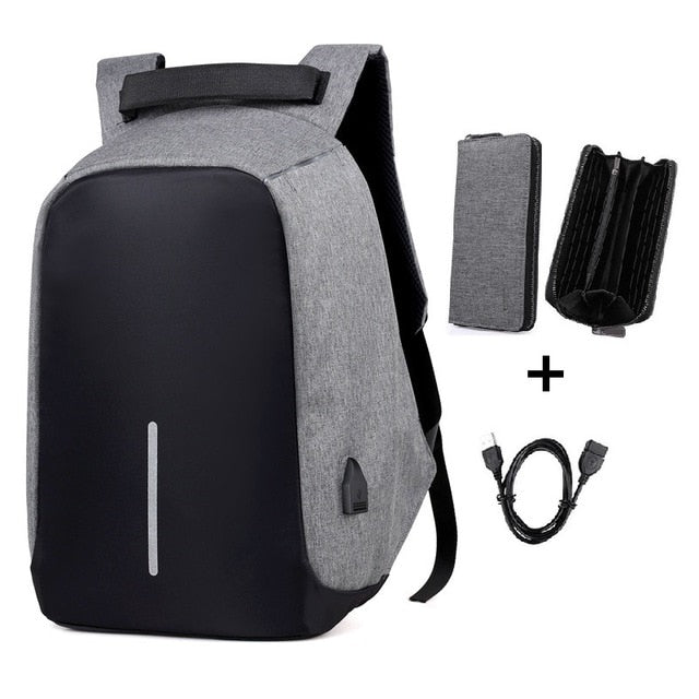 USB Waterproof Backpacks shockproof laptop school bags Men's and women's Anti-theft travel backpacks lap top backpack