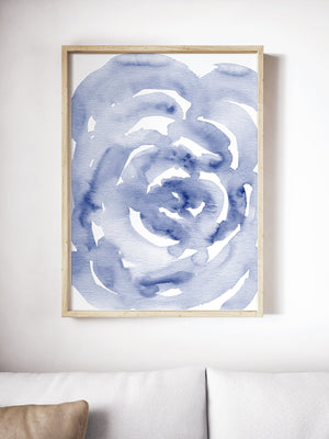 Navy blue Rose