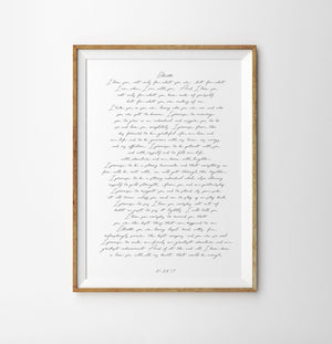 One year wedding anniversary gift, Wedding vows art print  poster, Personalized vows Poster, First anniversary gift, your vows  art print
