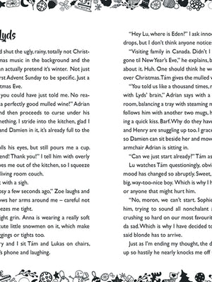 Anna Blue Christmas Short Story excerpt.
