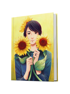 Hardcover Notebook Sunflower Lukas
