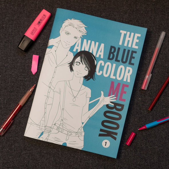 Anna Blue Color Me Book 1