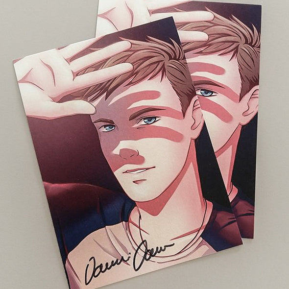 SIGNED card- Damien