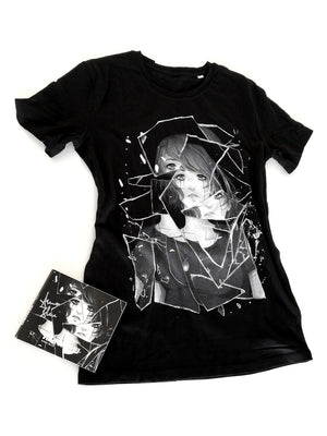 BUNDLE Tee & Single CD Unbroken