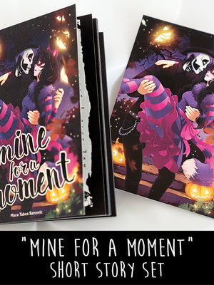 Cute stand alone story about Zoe and Henry. Read about their time before it takes place. A spoopy, romantic read and exclusively available in the Anna Blue store.