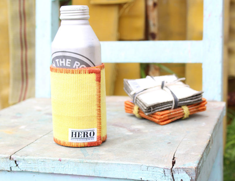 HERO Firehose Koozies
