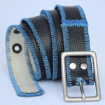 HERO Reversible Narrow Belt - 'Blue Smoke'