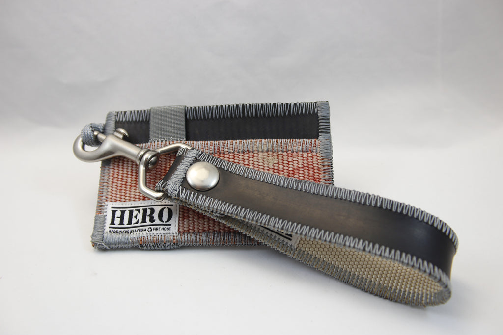 Pocket HERO Wallet & Clip Keychain Set - 'Embers'