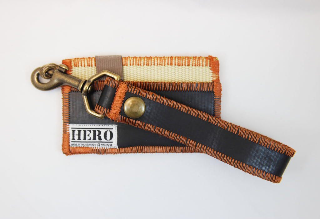 Pocket HERO Wallet & Clip Keychain Set - 'Extinguisher'