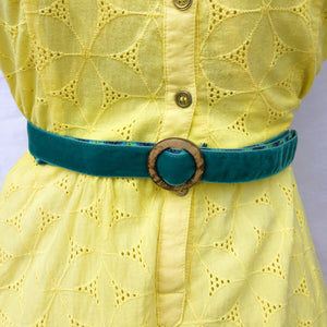 Hippy Chic Skinny Mini - Reversible Neon Day Dreams Belt