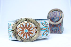 Hippy Chic Reversible Belt - Gold Paniolo