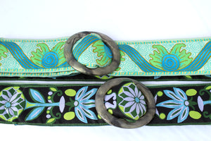 Hippy Chic Reversible Belt - Pacifica