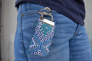 Hippy Chic Accessory - Pocket Keychains