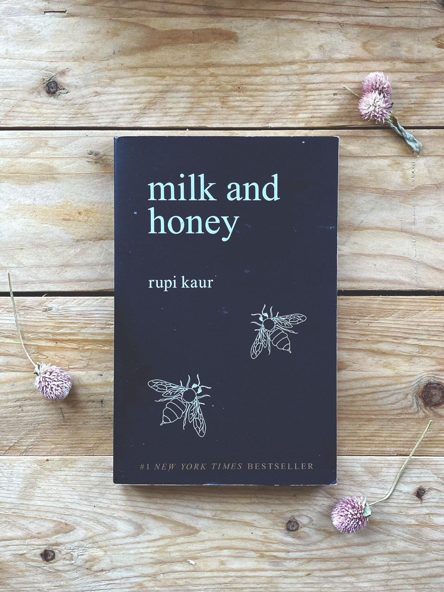 The Lonely Hearts Book Club: Milk and Honey by Rupi Kaur
