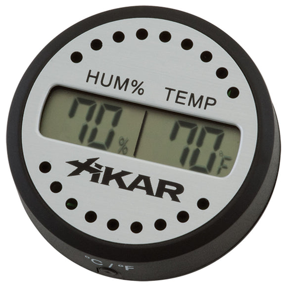 Digital Hygrometers Round