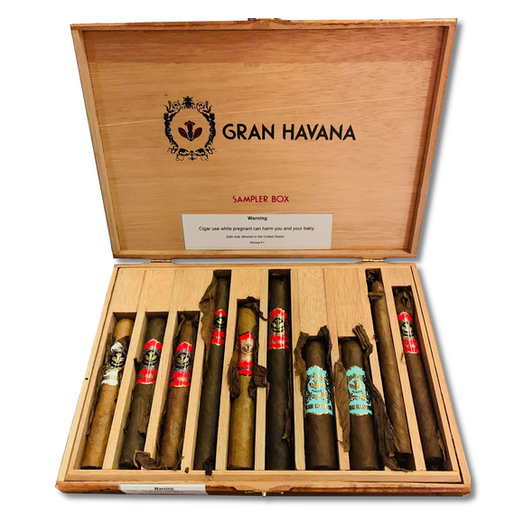 Sampler Box of 10 Cigars