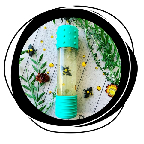 Nature-themed calm down bottle