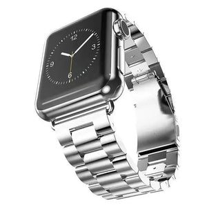 Stainless Steel Bracelet Buckle Strap Clip Adapter for Apple Watch 42MM & 38M
