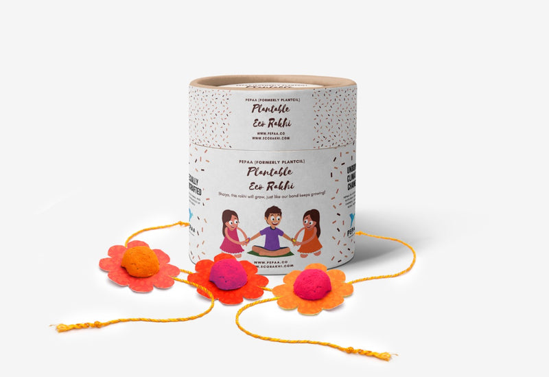 Plantable Eco Rakhi Gift For Brother [FREE Shipping to India]
