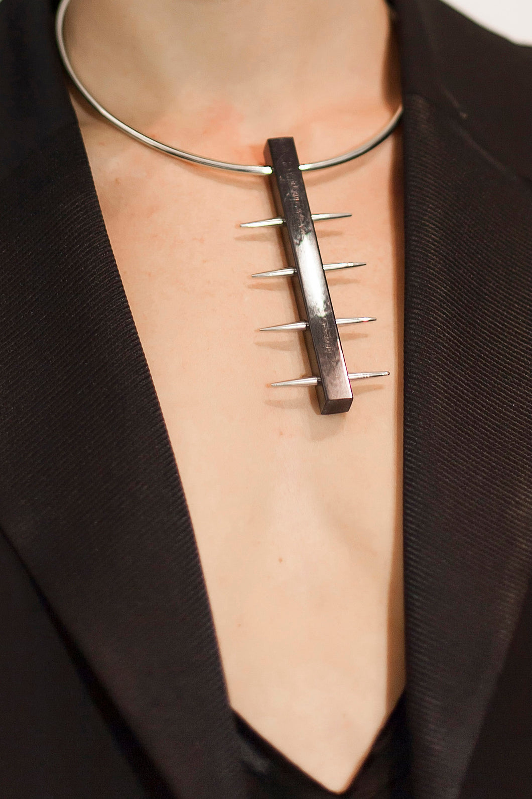 Subliminal Spike Necklace