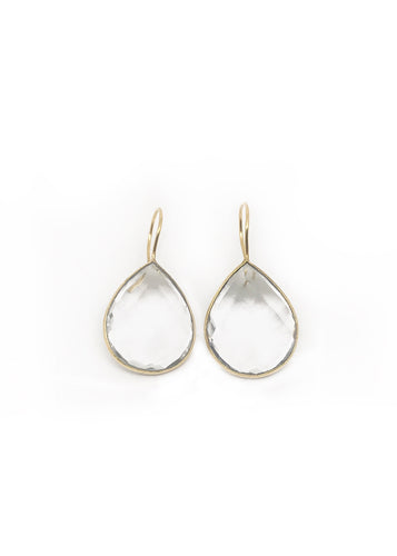 Crystal Mono Earrings
