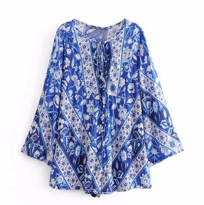 Blue Bird Playsuit-gypsybaby-boho-clothing-fashion