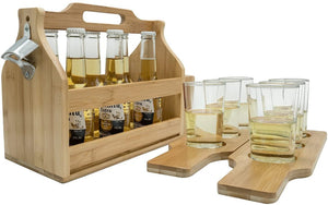 Beer Caddy With Flight Boards