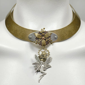 NoMonet Steam Punk Collar Necklace - Lorraine's for Women