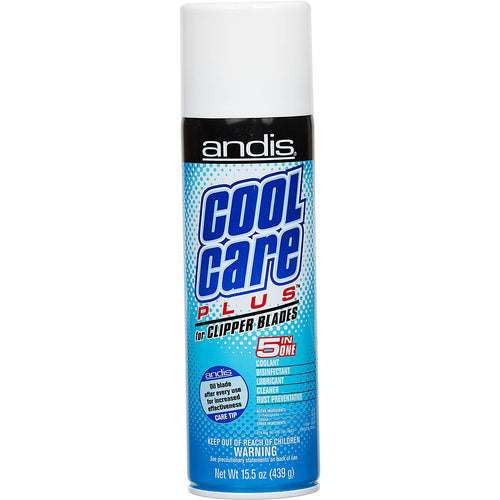 ANDIS Cool Care Plus Spray 5 in 1 Clipper Blade Cleaner 15.5oz