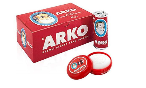 Arko Shaving Soap in Bowl -  12 pieces