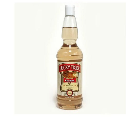 LUCKY TIGER LT Bay Rum After Shave 16oz