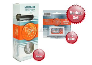 Merkur 37 C HD Slant Double Edge Safety Razor