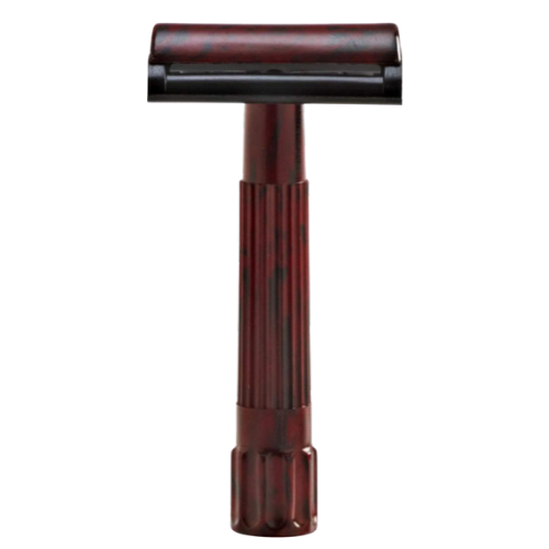 MERKUR - 45C BAKELITE RAZOR BLACK RED