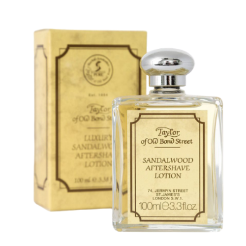 Taylor of Old Bond Street Luxury Sandalwood After Shave Lotion - 100 ml.