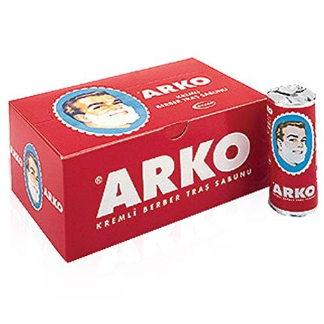 Arko Shaving Soap Stick - 12 pieces