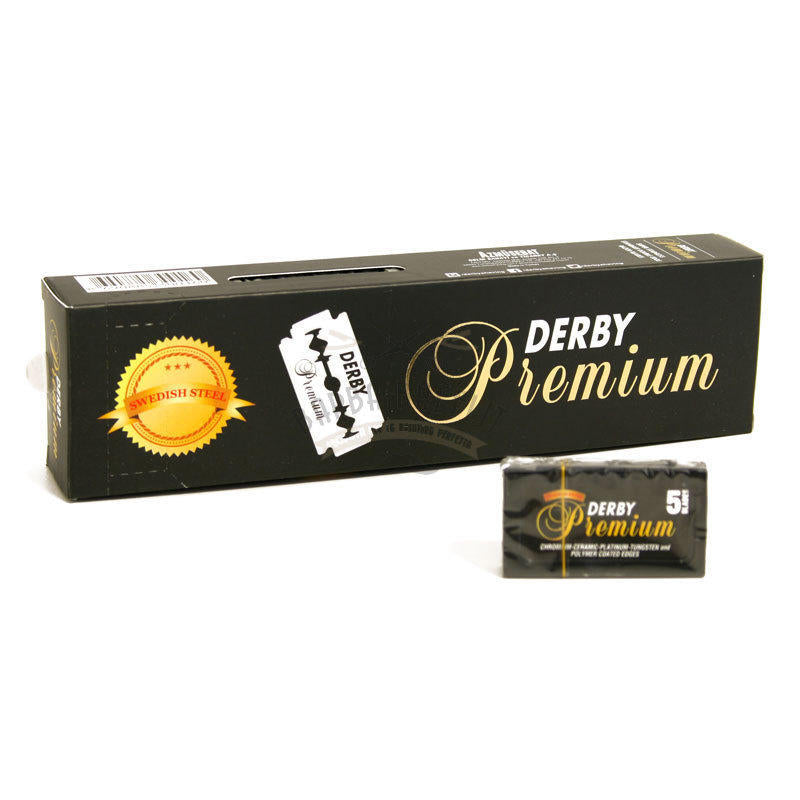 NEW !! Derby Premium Double Edge Razor Blades