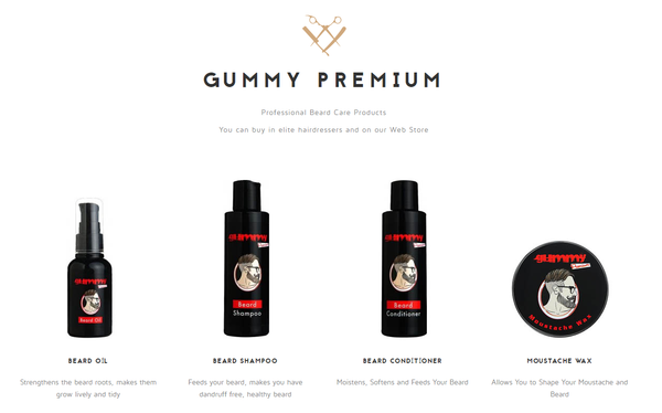 Gummy Beard & Moustache Series Display - 3 of each Product