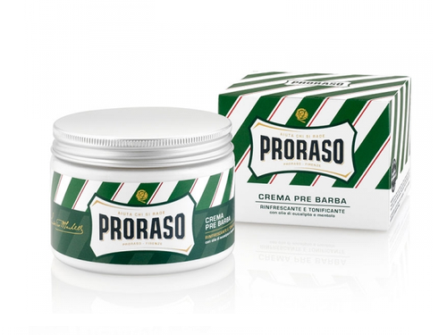 Proraso Pre Shave Cream 300 ml Jar - Menthol and Eucalyptus