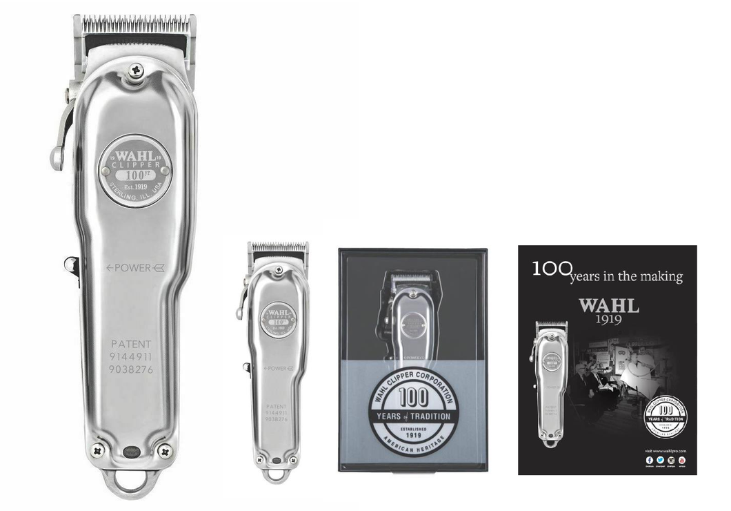 Wahl 100 Year Anniversary Cordless Clipper Limited Edition - AUS SELLER