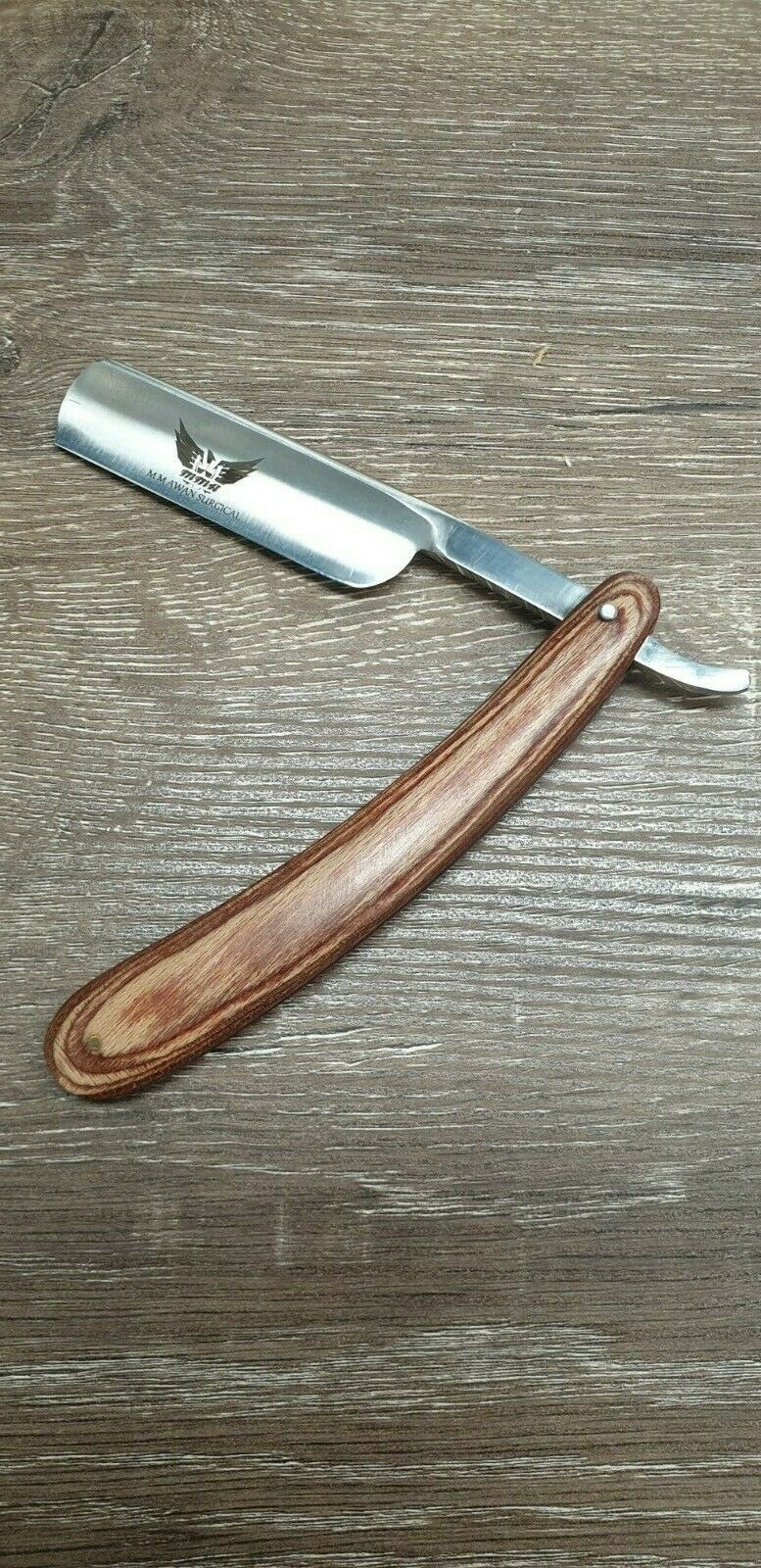 Fixed Blade Stainless Steel Cutthroat Razor