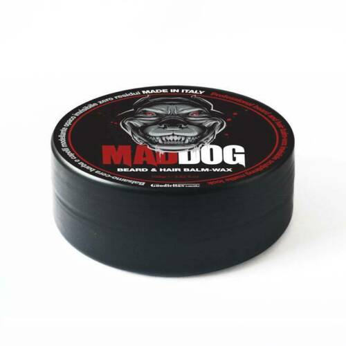 THE GOODFELLAS SMILE MAD DOG - Beard & Hair Balm Wax 100 gr