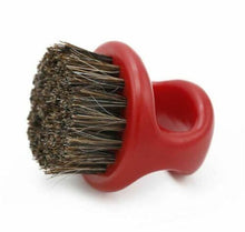 Load image into Gallery viewer, BARBER CLIPPER CLEANING & BEARD RING BRUSH - RED COLOR