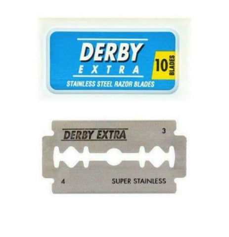 DERBY EXTRA - Super Stainless Blades (10 count)