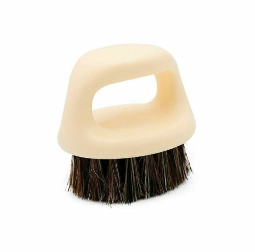 BARBER CLIPPER CLEANING & BEARD RING BRUSH - WHITE COLOR