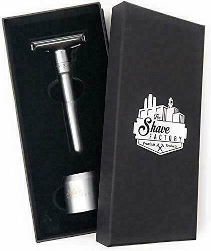 The Shave Factory Premium Adjustable Double Edge Safety Razor
