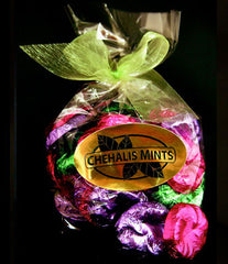 Milk Chocolate Mint Pansies