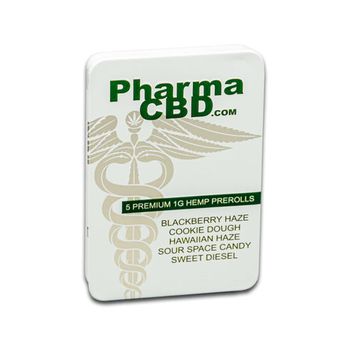 PharmaCBD 5 ct Pre-roll Tin